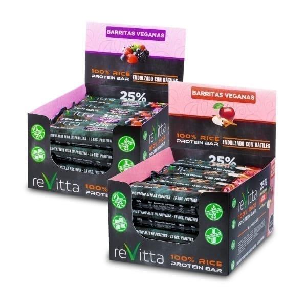 Caja barritas de proteína Rice Bar